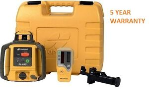 Topcon RL-H4C Construction Laser Level Alkaline DB Kit