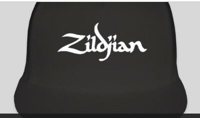 ZILDJIAN Cymbal Logo Trucker Style Hat Cap Music Band NEW Instruments Adjustable