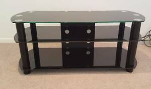 TV Stand - Black Glass Seaforth Manly Area Preview