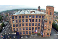 65 s.q.f.t - 24,000 s.q.f.t Fully furnished serviced offices Manchester from £125 P/M