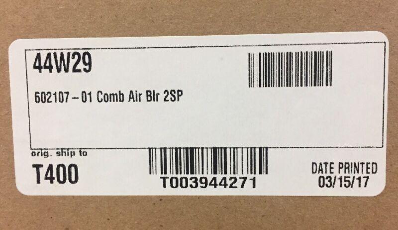 LENNOX/DUCANE/ARMSTRONG COMB. BLOWER ASSY 208/230V 44W29/602107-01