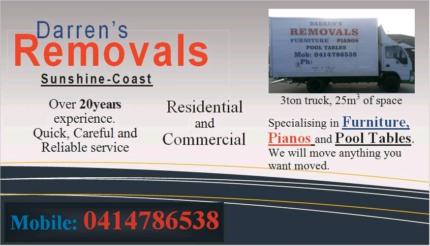 Hervey Bay - Sunshine Coast || Removals || $1200 || 22m3 ||  Dundowran Fraser Coast Preview