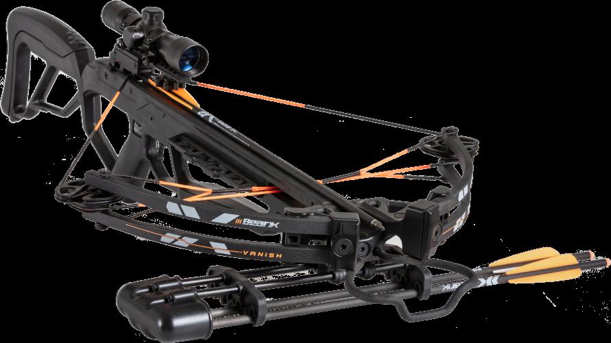 NEW FOR 2019 Bear Archery VANISH Crossbow BLACK SHADOW Packa