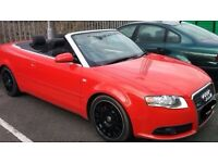 Audi A4 Convertable. S Line. FSH. 2 owners from New.