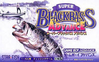 Gameboy Advance Game - Super Black Bass Advance