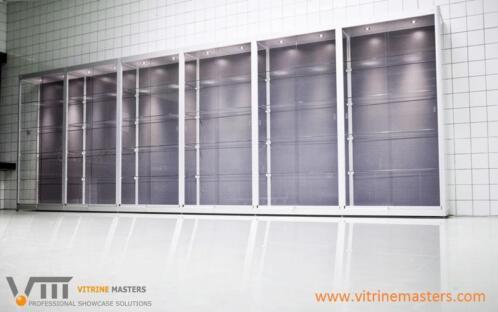 Vitrine Kast Glas : ≥ glazen vitrinekasten vitrinekast glas hang vitrine kasten
