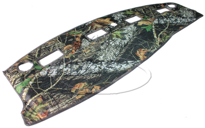 New Mossy Oak Camouflage Tailored Dash Mat Cover Fits 02 05 Dodge RAM Truck