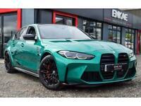 2021 21 BMW M3 0.0 M3 COMPETITION 4D 503 BHP ISLE OF MAN GREEN SILVERSTONE BLACK