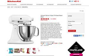 KitchenAid® Artisan® Series Tilt-Head Stand Mixer KSM150PS