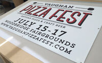 Limited Time Deals on Banners/Coroplast Signs Special