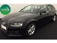 £239.14 PER MONTH BLACK 2013 AUDI A4 AVANT 2.0 TDI SE ESTATE DIESEL MANUAL