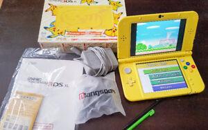 NEW NINTENDO 3DS XL ÉDITION PIKACHU AVEC 1200 JEUX
