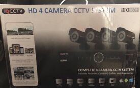 IQ cctv HD 4 camera cctv system