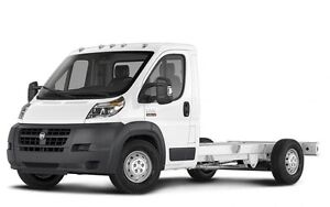 2017 RAM ProMaster 3500 Cab Chassis Low Roof 159 in. WB