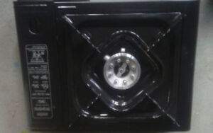 World Famous Butane Stove with case.