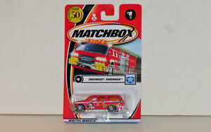 Matchbox Chevrolet Suburban 1:64 Scale Diecast...Red