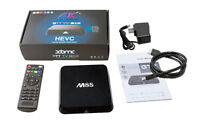 M8S TV Boxes w/ Keyboard Remote & 1000+ Free Live TV Channels