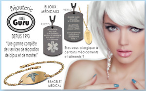 We sell and engrave medical jewelry!