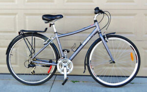 Raleigh Hybrid/Cruiser bicycle. in great condition