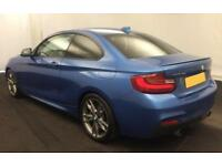 2015 BLUE BMW M235i 3.0 T SPORT COUPE PETROL MANUAL 2DR CAR FINANCE FR £62 PW