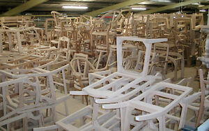 Unfinished Raw Chair Frames - hundreds!!