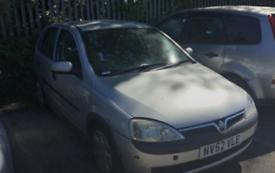 Vauxhall Corsa automatic breaking