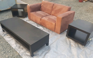 Couches/end tables/coffee table/TV stand