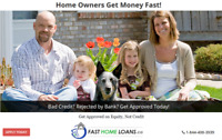 Fast Home Loans for Kitchener Home Owners. Approved on Equity