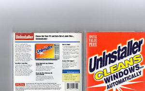 McAfee Uninstaller In Jewel Case - 2000 - PC - $4.00