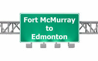 ★☆★ Need to get from Fort McMurray to Edmonton? $500 ★☆★