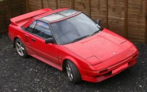 85-89 Toyota MR2 whole car/parts car running or not need part to
