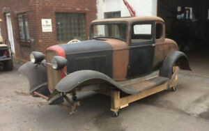 Wanted 32 Ford Hood, Door Hinges, Rear wheel wells
