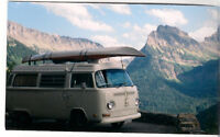 1972 White Westfalia Camper