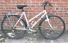 Ladies Emmelle light hybrid townbike