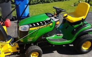 John Deere lawn tractor D130 2016 with 44 inch snowblower