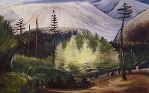 "Limited Edition Emily Carr ""New Growth"""