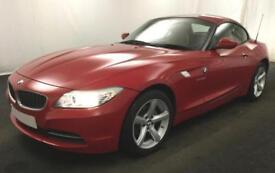 2011 RED BMW Z4 2.0 SDRIVE20i PETROL MANUAL ROADSTER CAR FINANCE FR £46 PW