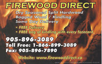 FIREWOOD DIRECT DRY SEASONED SPLIT HARDWOOD