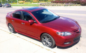 2008 Mazda3 GT (Limited Edition) w/ Luxury Package