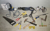 ASSORTED NEW AND USED POWER TOOLS