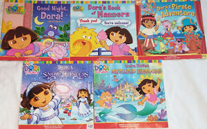 Qty 6 Sets of 5 Dora Books Including Lift the Flap Retailing $9+ London Ontario image 4