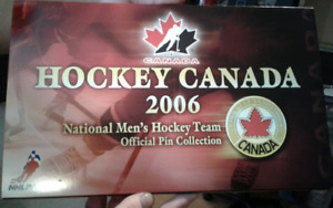 2006 HOCKEY CANADA - OLYMPIC OFFICIAL PIN COLLECTION