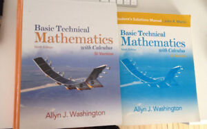 Basic Mathematics with calculus & student Solutions Manual