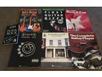 MULTIPLE GUITAR BOOKS FOR SALE