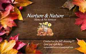Nurture & Nature Pet Services