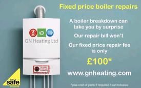 GN Heating Ltd Fixed price boiler repairs