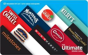 $30 ULTIMATE DINING CARD FOR $20