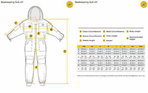 Humble Bee 411-XS Polycotton Beekeeping Suit with Fencing Veil