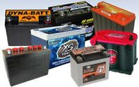 FREE PICKUPS OF YOUR BATTERIES, CAR, TRUCK PARTS ETC!