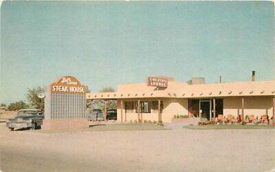 Roswell New Mexico La Cima Steak House 1950s Postcard McGarr roadside 21-7735